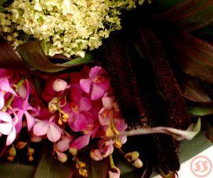 フレアとミレット花束2
