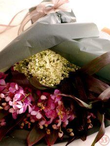 フレアとミレット花束1
