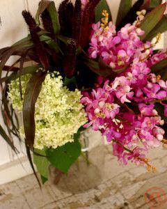 フレアとミレット花束3