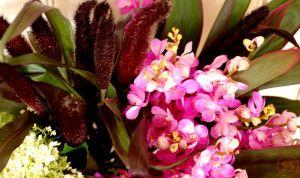 フレアとミレット花束4